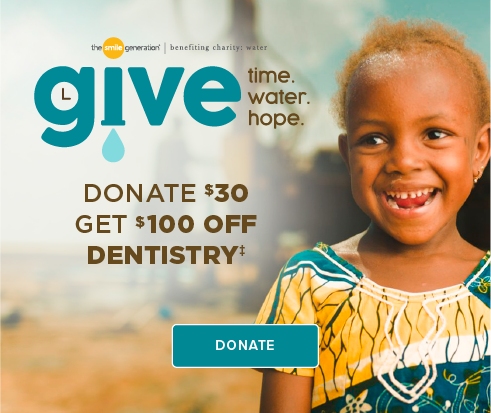 Donate $30, Get $100 Off Dentistry - Turlock Smiles  Dentistry and Orthodontics